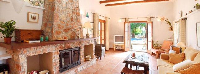 5 bedroom Villa in Cas Concos, Balearic Islands, Spain : ref 5217504