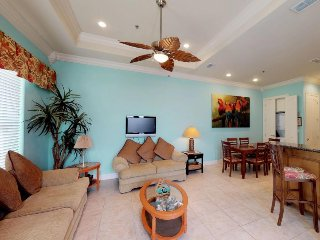 Bright beach getaway with a balcony, free WiFi, and access to a shared pool