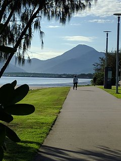 a morning walk down the esplanade in Cairns is a must
