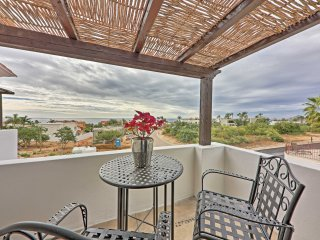 2 bedrooms have private balconies with ocean views.
