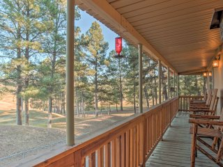 NEW! 2BR Ruidoso House on Links Golf Course!