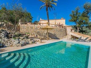 5 bedroom Villa in Campanet, Balearic Islands, Spain : ref 5503176