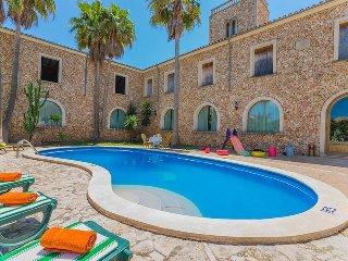 5 bedroom Villa in Maria de la Salut, Balearic Islands, Spain : ref 5503173