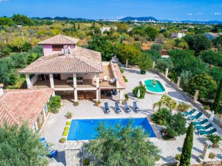 5 bedroom Villa in Lloseta, Balearic Islands, Spain : ref 5503157