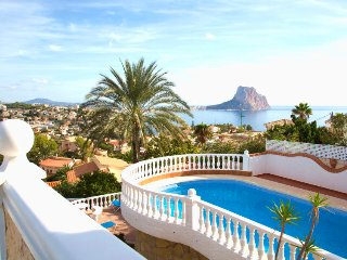 4 bedroom Villa in Calpe, Valencia, Spain : ref 5481421