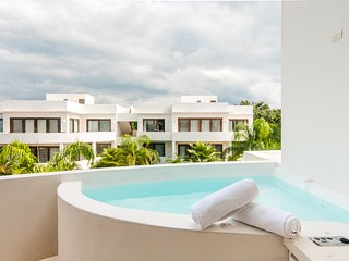 Private Jacuzzi C301s Adults Only Topless Tulum Resort