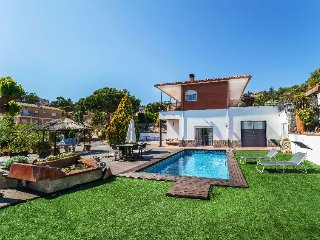 5 bedroom Villa in Lloret de Mar, Catalonia, Spain : ref 5389138