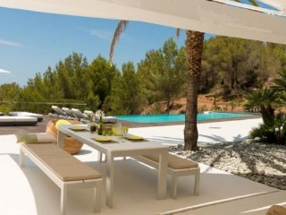 4 bedroom Villa in Cala Tarida, Balearic Islands, Spain : ref 5251918