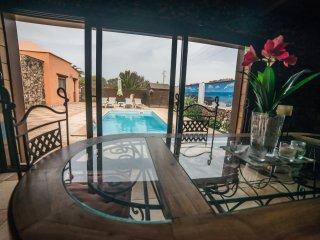 Villa Maravilla, WIFI y piscina privada