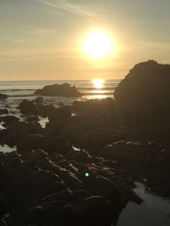 Sunset at Sandymouth