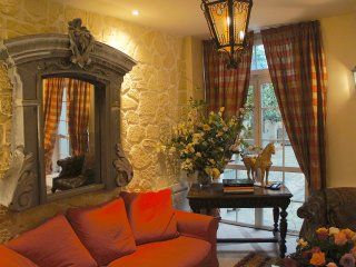 In Paris' Marais District in an Historic Palace, Artfully Restored 4 Bedroom, 3