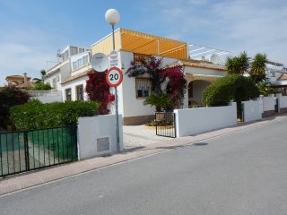 La Marina - 3-bed Villa next to large community pool, with sandy beaches nearby.