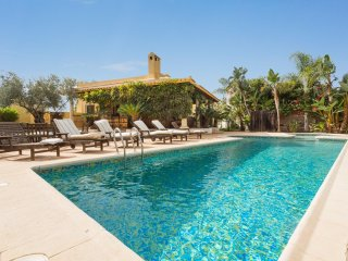 4 bedroom Villa in La Algarrobina, Andalusia, Spain : ref 5217841