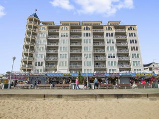 Large Great Condo on the Boardwalk and Beach down town Belmont Towers