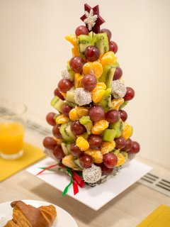 Fresh fruit tower available upon request