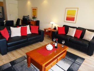 open living room with TV, DVD, Netflix, WiFi, ...