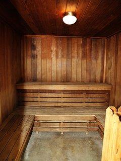 Sauna at the Cape Winds Complex