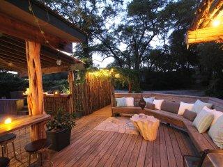 Deck outside of living room