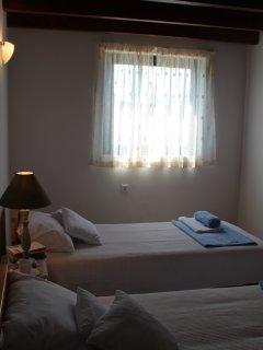 Bedroom on the second floor