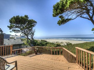 Cute Oceanfront home with large deck to capture the incredible views!