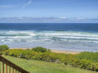 Spectacular views from this oceanfront home with close beach access!