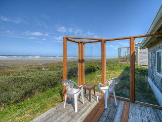 Oceanfront home in Sandpiper Village with easy beach access!