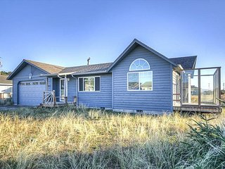 New home with great ocean views and wood stove to keep you cozy!