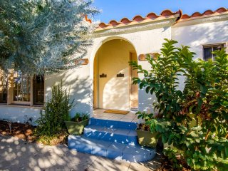 Charming Spanish Style Home with tree fruits backyard centrally located in L.A.