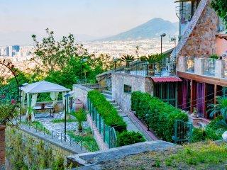 Casa con 2 terrazzi, panoramica al centro