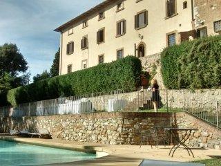 8 bedroom Villa in Il Castagno d'Andrea, Tuscany, Italy : ref 5506660