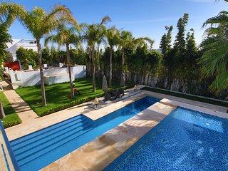Somptueuse villa au cœur du quartier très prisé de Tanger