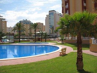 Stunning marina, Med and Mar Menor views, aircon, free Wifi, UK TV, pools, beach