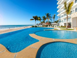 Oceanfront, 3 BR/3.5 BA, New, Luxury Pearl Tower Condo Directly on the Beach