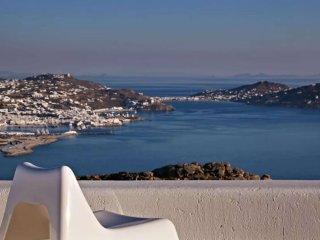 Tourlos Studio with sea view