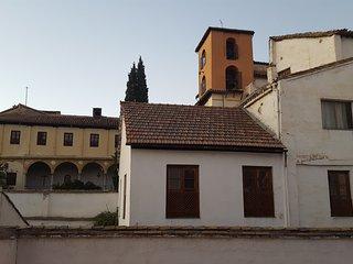 Convento de Santa Catalina, en frente del apartamento. Vista desde el balcón.