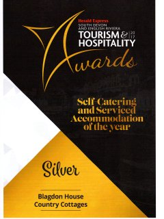 We are South Devon Silver award winners.