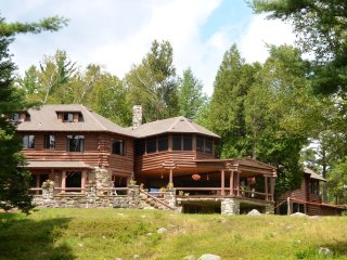 Eagle Nest Lodge ~ A Unique Lakefront Adirondack Great Camp