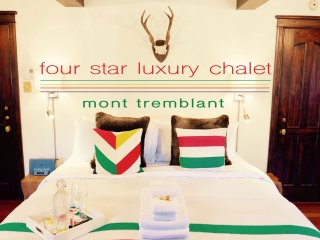 Mont Tremblant 4 STAR luxury home, sleeps 18
