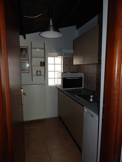 kitchenette at the back house