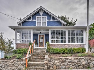 Historic Seaside Home Steps from Beach & Downtown!
