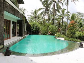 A Calm and Luxury 3 Bed Rooms Villa Surrounded by Beautiful Rice Fields