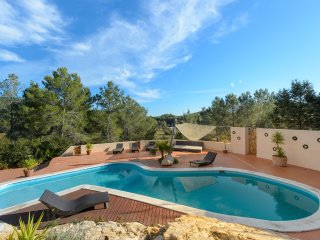 Beauty Villa with pool by Santa Gertrudis incl. Fiat 500 Cabrio