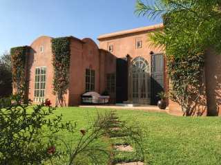 Marrakech - luxury private accommodation outside town set in own mature garden