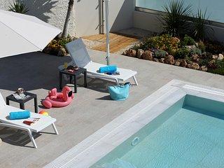 Spacious Modern Villa close to Arillas Beach with Private Pool