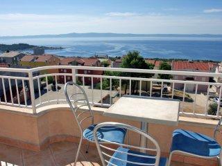 Ferienwohnung 150-2 für 3+1 Pers. in Makarska