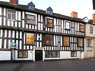 NEW for 2018! Stunning Tudor Mansion in Central Shrewsbury