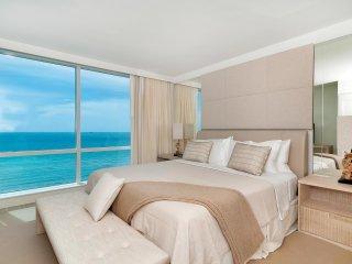 Newest 5 Star Eco Hotel Condo! Beach Access Full Oceanfront Unit 919