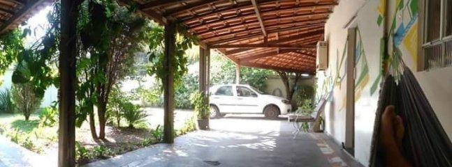 Balcony and garage