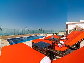 Dubai jbr spettacolare Penthouse con terrazzo e piscina privata