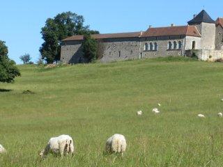 4 Chambres d'hôtes avec vue au sommet du Périgord